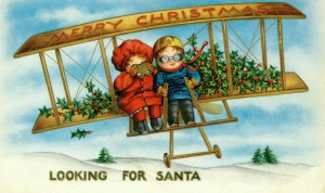 children looking for santa-1