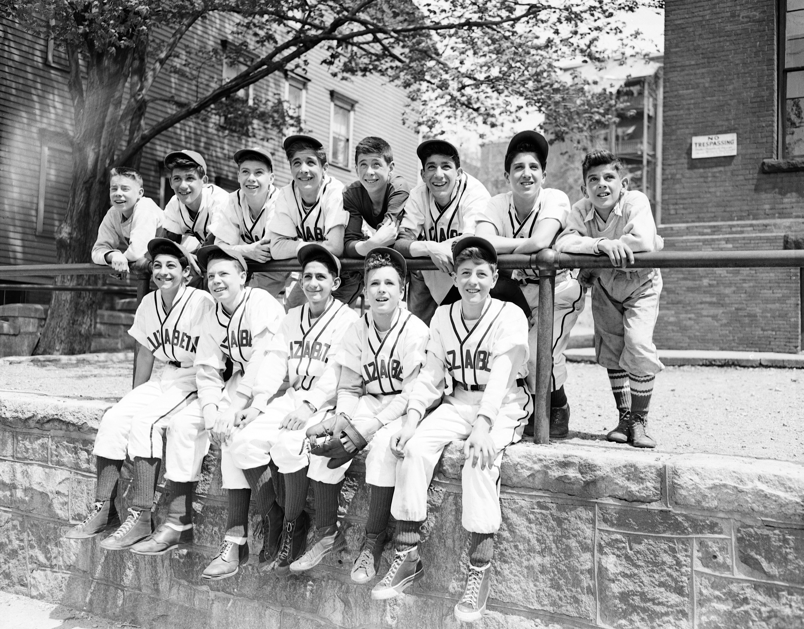 Elizabeth Street School Baseball (May 13, 1947) GC36