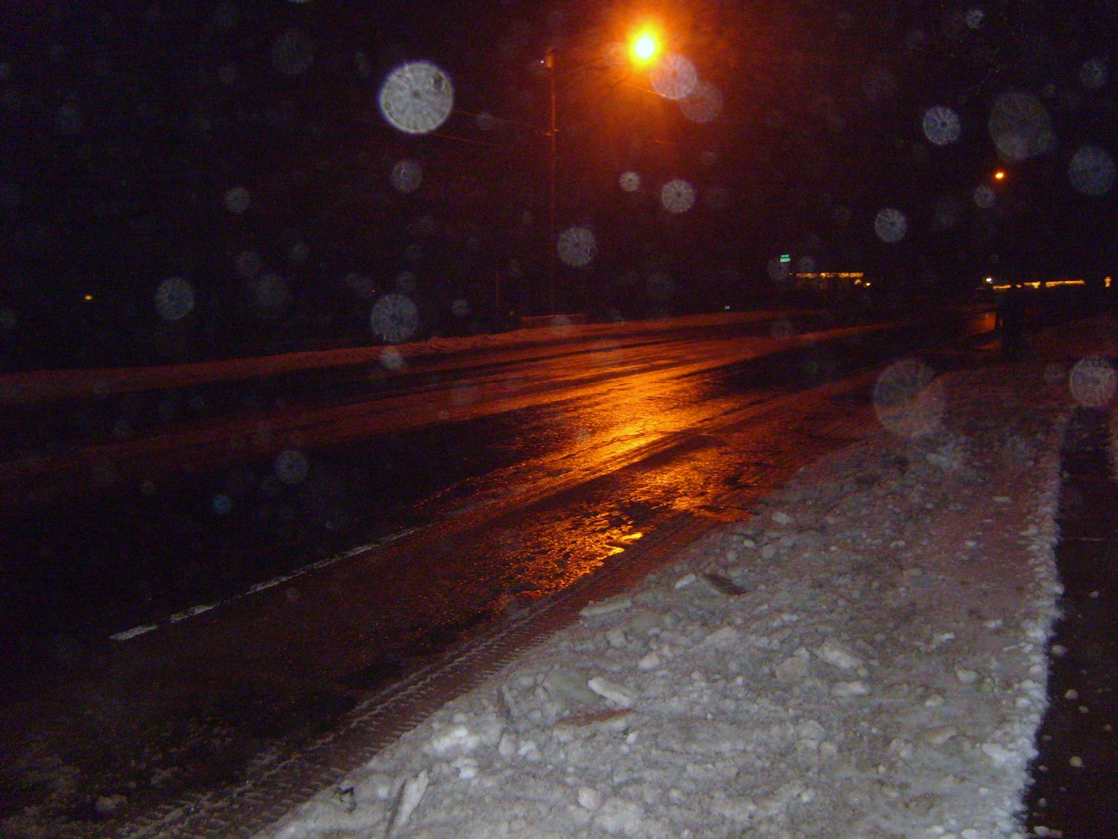 Icy road 12-30-15