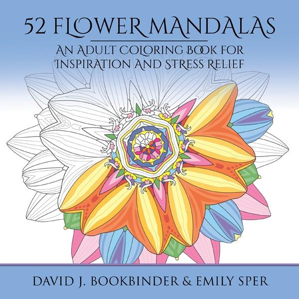52 Flower Mandalas Adult Coloring Book