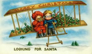 children looking for santa-1