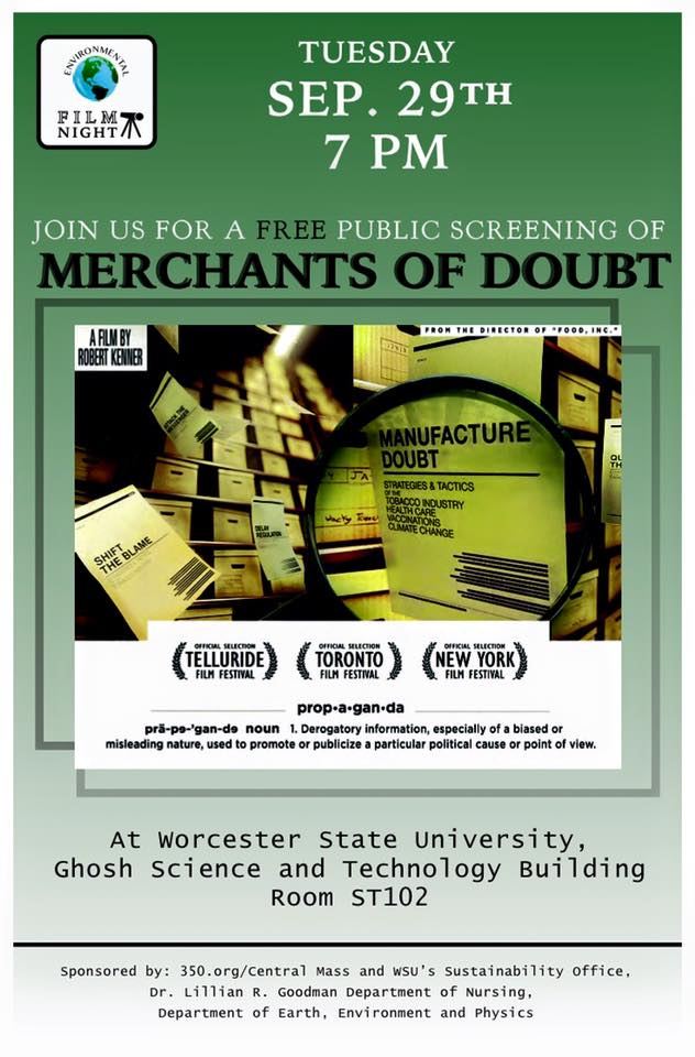Merchants of Doubt Poster