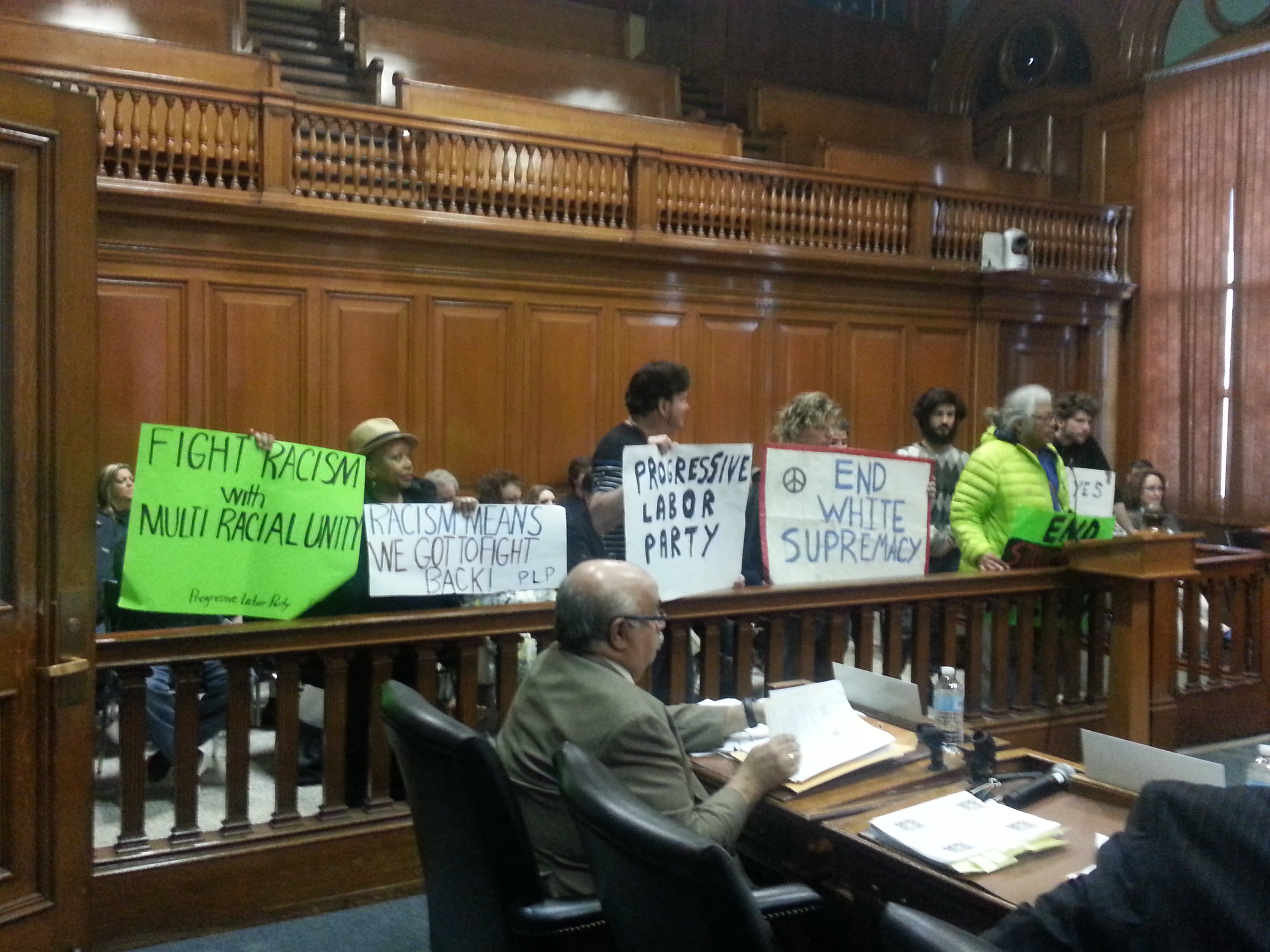 Root out racism at City Hall 5-17-16