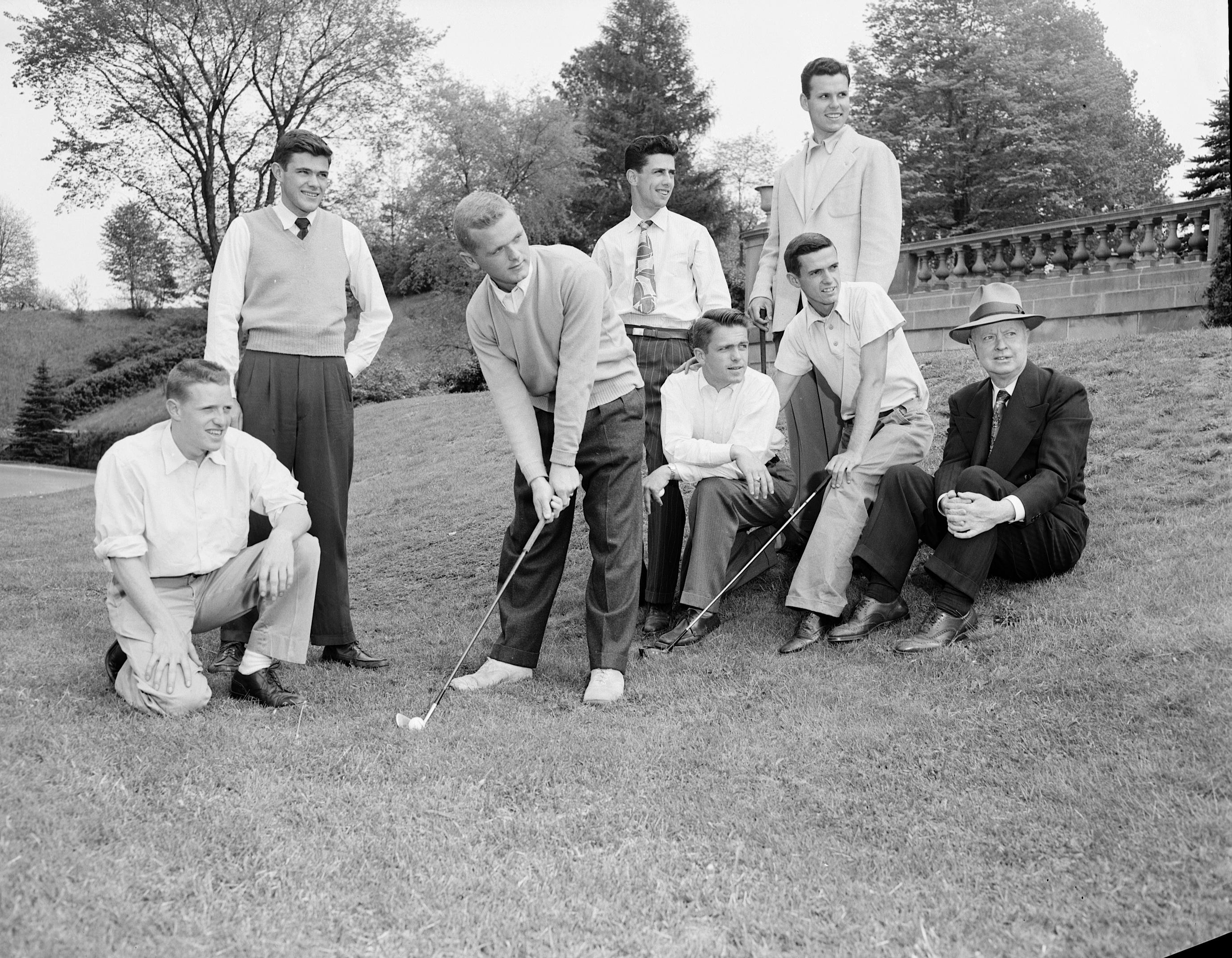 Golfers (May 23, 24, 1950) G 174B