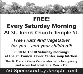 St. John's Saturday Morning Food for the Poor