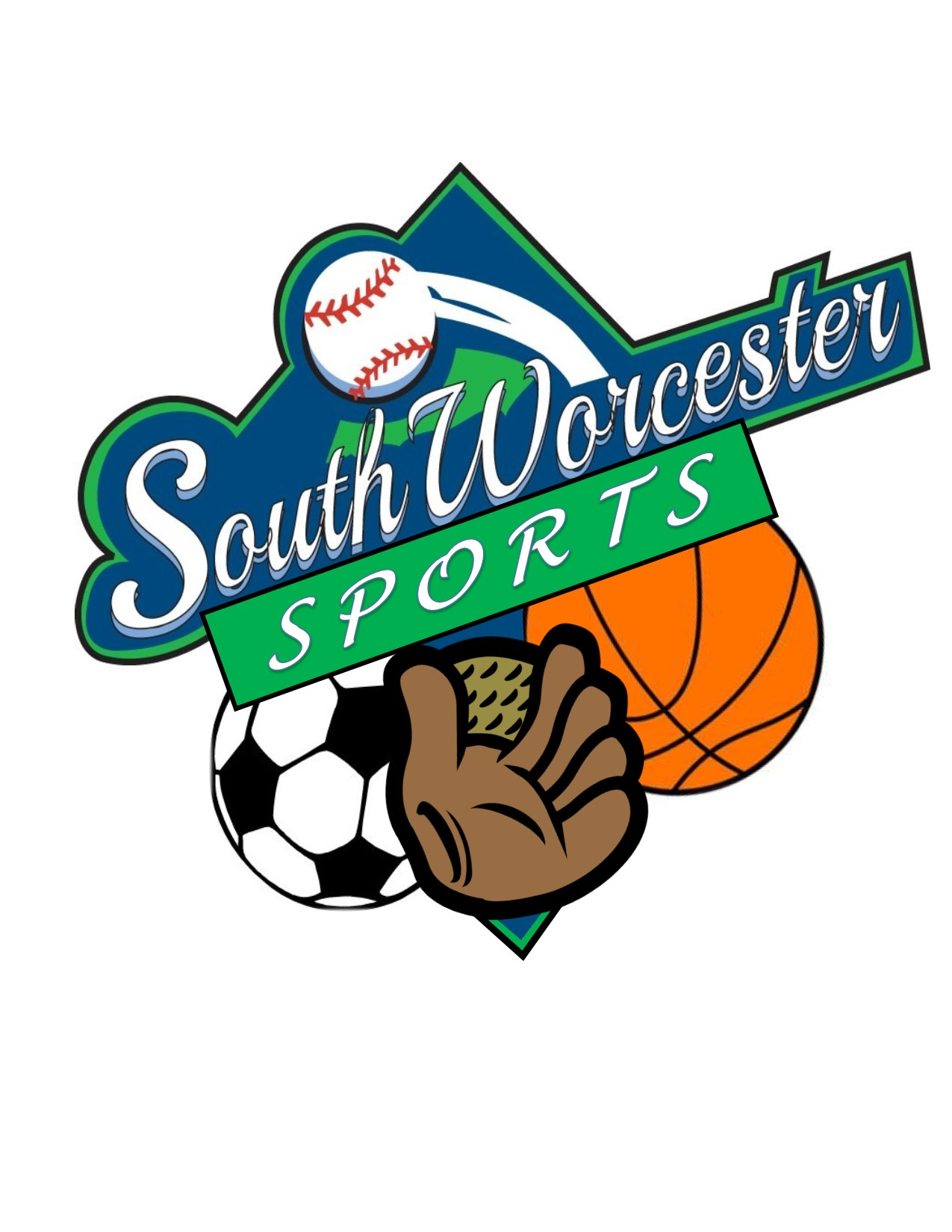NEW South Worcester Sports logo